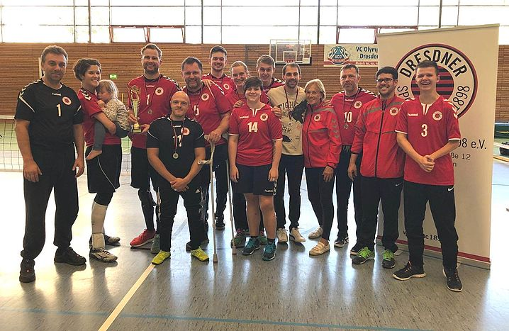 Die gesamte DSC-Mannschaft nach dem Turnier.